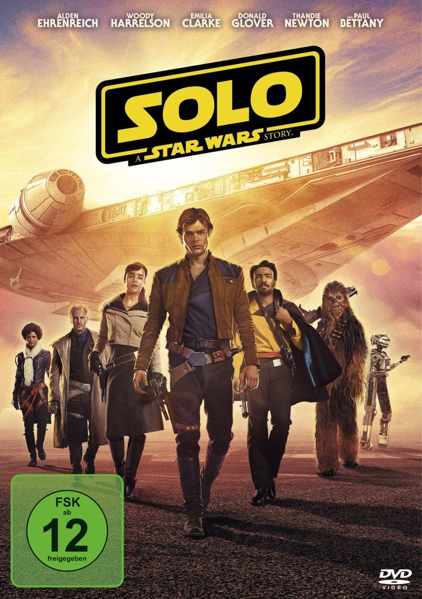 Solo: A Star Wars Story [Alemania] [DVD]: Amazon.es: Alden ...