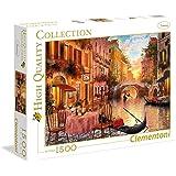 Clementoni - Puzzle de 1500 piezas, High Quality, diseño Venecia (316687)
