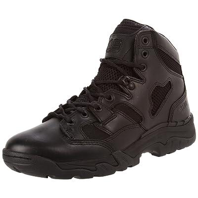 """5.11 Men's Taclite 6"""" Side Zip Boot,Black,4 US/Womens 5.5 D(M) US: Shoes"""