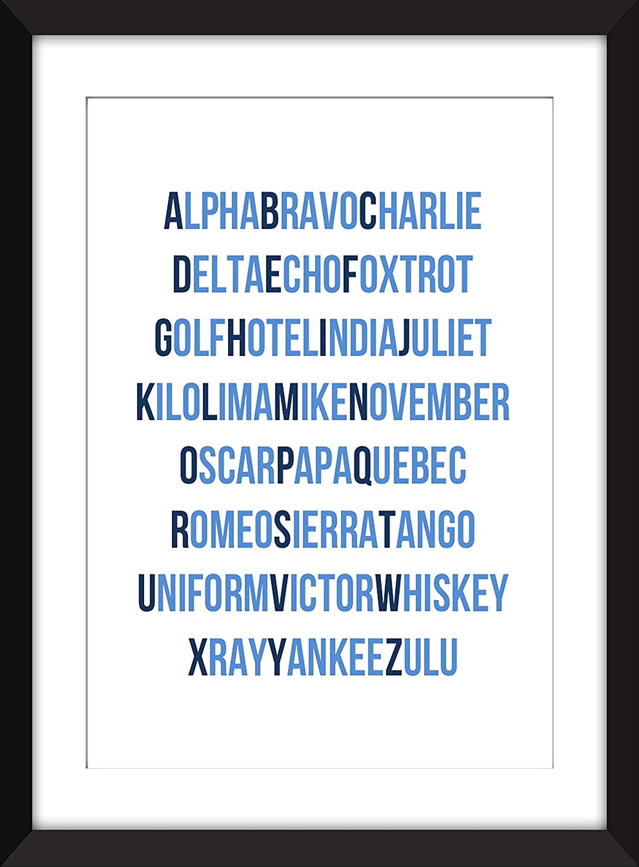 Impresión fonética de la tipografía del alfabeto Unframed Imprimir ...