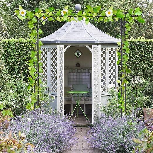 BeNutz Pérgola de Metal para jardín, Boda, Arco, Flores, Plantas trepadoras: Amazon.es: Jardín