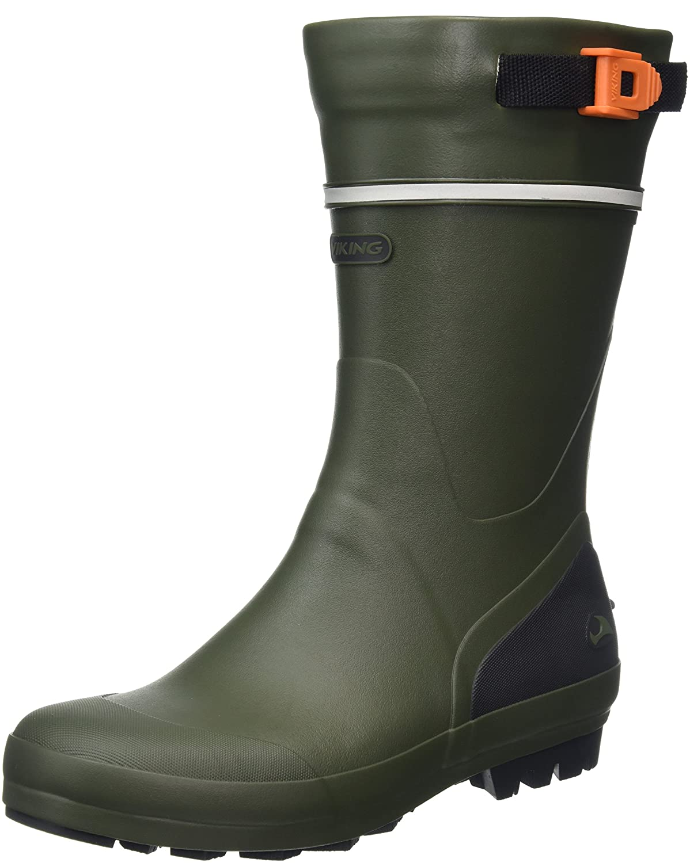 Viking Touring III, Botas de Agua Unisex Adulto47 EU|Verde (Green 4)
