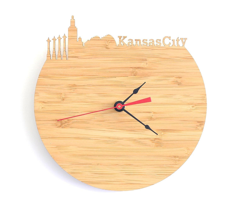 Amazon.com: Kansas City Skyline Clock: Handmade