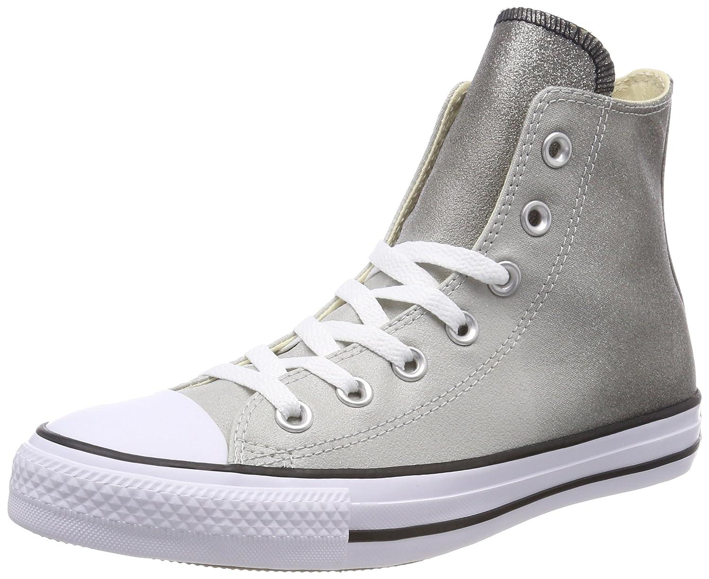 Converse Ctas Hi, Scarpe da Fitness Donna Grigio (Ash grigio nero bianca 095)   Attraente e durevole    Maschio/Ragazze Scarpa