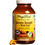 MegaFood - Turmeric Strength For Whole Body, Supports healthy aging, 120 Tablets