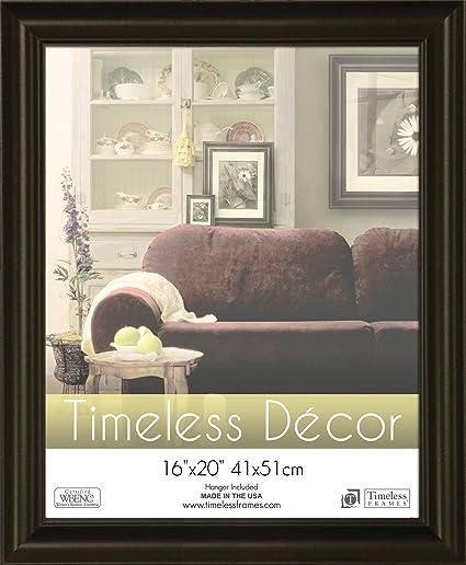 Amazon.com - Timeless Frames 16x20 Inch Boca Picture Frame, Black ...