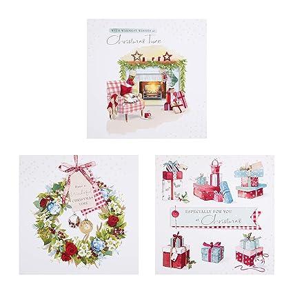 Hallmark - Tarjeta de felicitación navideña, diseño con texto en inglés