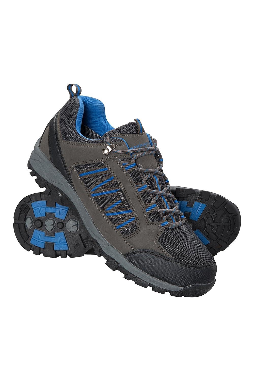 Mountain Warehouse Chaussures de marche Path pour hommes - Chaussures imperméables, respirantes, doublure en maille, semelle à haute traction - Pour plus de stabilité et d'adhérence