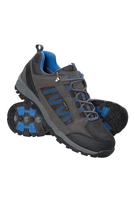 Mountain Warehouse Zapatillas Path para Hombre - Zapatillas Impermeables para el Gimnasio, Botas de montaña