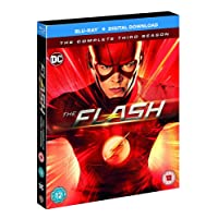 The Flash: The Complete Season 3 (4-Disc Box Set) (Blu-ray + Digital Download + UV) (Region Free + Slipcase Packaging + Fully Packaged Import)