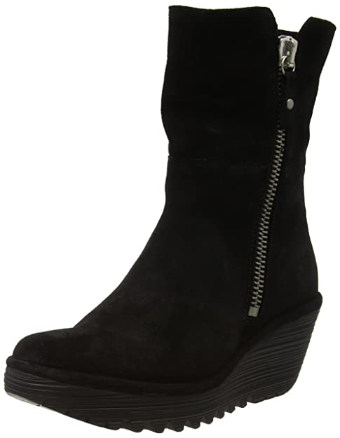 Fly London Yex668fly - Botines Mujer, color Negro (Black/diesel 005), talla 41: Amazon.es: Zapatos y complementos