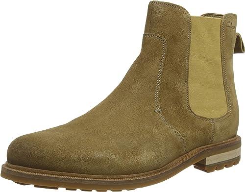 Clarks Men's Foxwell Top Chelsea Boots