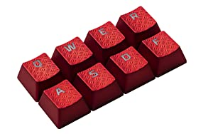 HyperX FPS & MOBA Gaming Keycaps Upgrade Kit (Red) - HXS-KBKC1