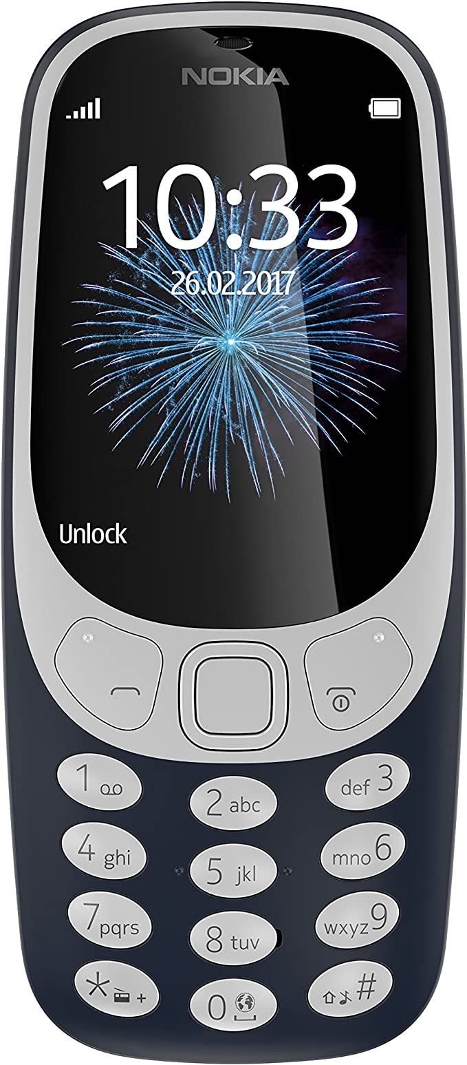 Nokia 3310 - Móvil Libre (Pantalla de 2.4
