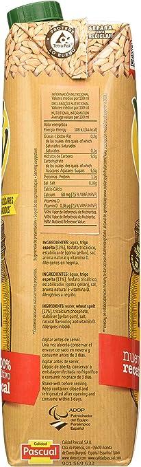 Vivesoy Bebida de Espelta - Paquete de 6 x 1 l - Total: 6 l: Amazon.es: Alimentación y bebidas