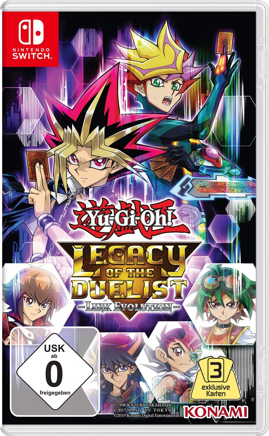 Yu-Gi-Oh! Legacy of The Duelist: Link Evolution [ [Importación ...