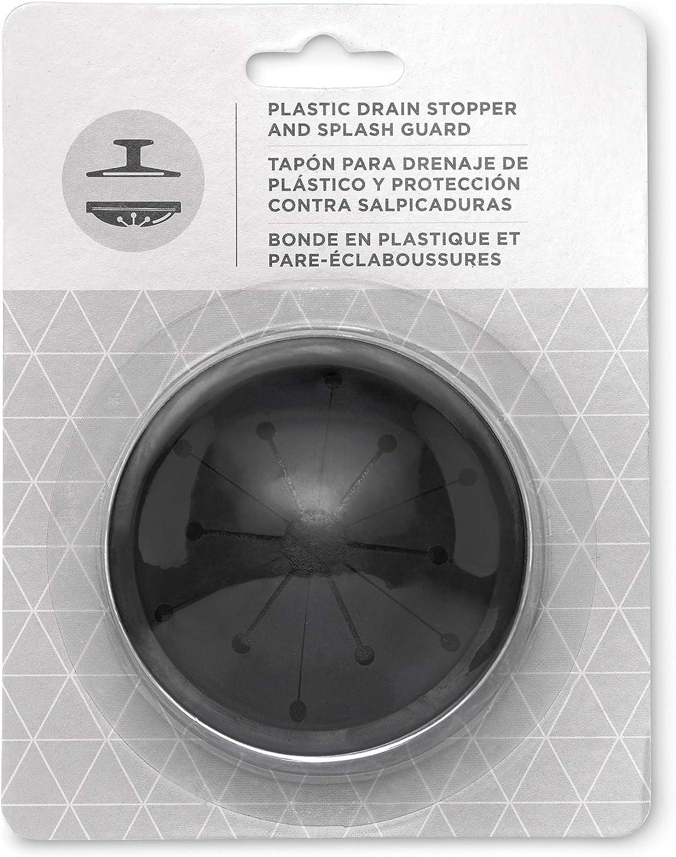 Black 1//2 HP /& 1025 EZ Mount Garbage Disposal Stopper and Splash Guard Waste King L-1001 Garbage Disposal with Power Cord
