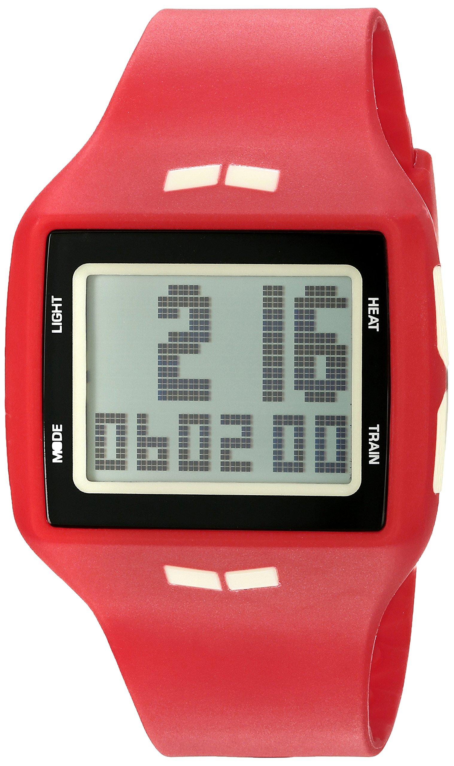 Vestal Unisex HLMDP25 Helm Digital Display Quartz Red Watch by VESTAL