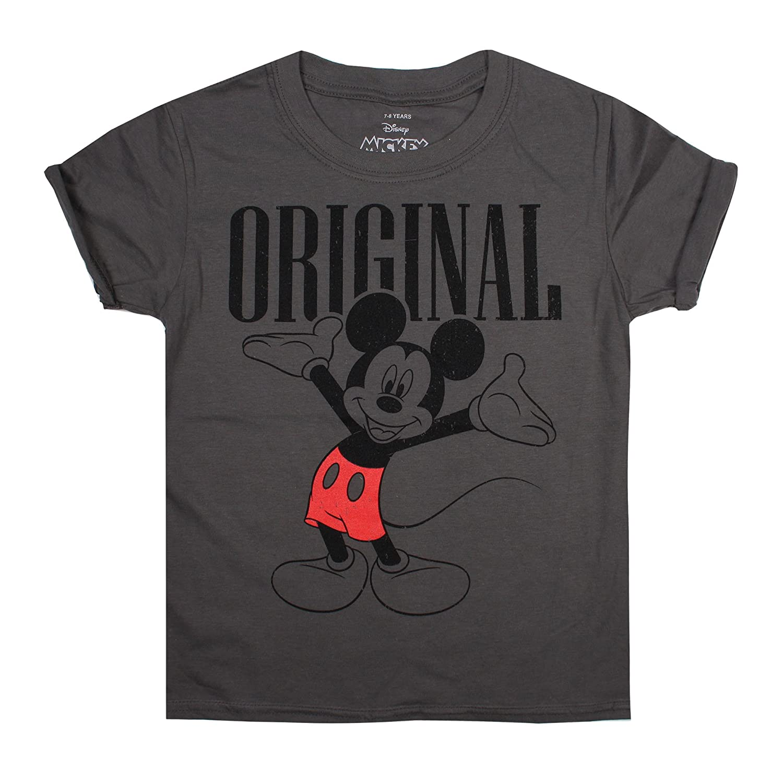 Disney Girl's Mickey Mouse Original T-Shirt RBGTS189
