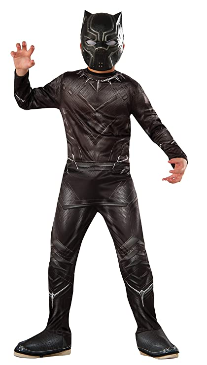Rubies Costume Captain America: Civil War Value Black Panther Costume, Large