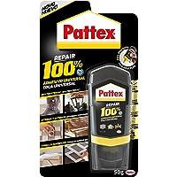 Pattex 100% lijm van meerdere materialen, transparant, fles 50 g