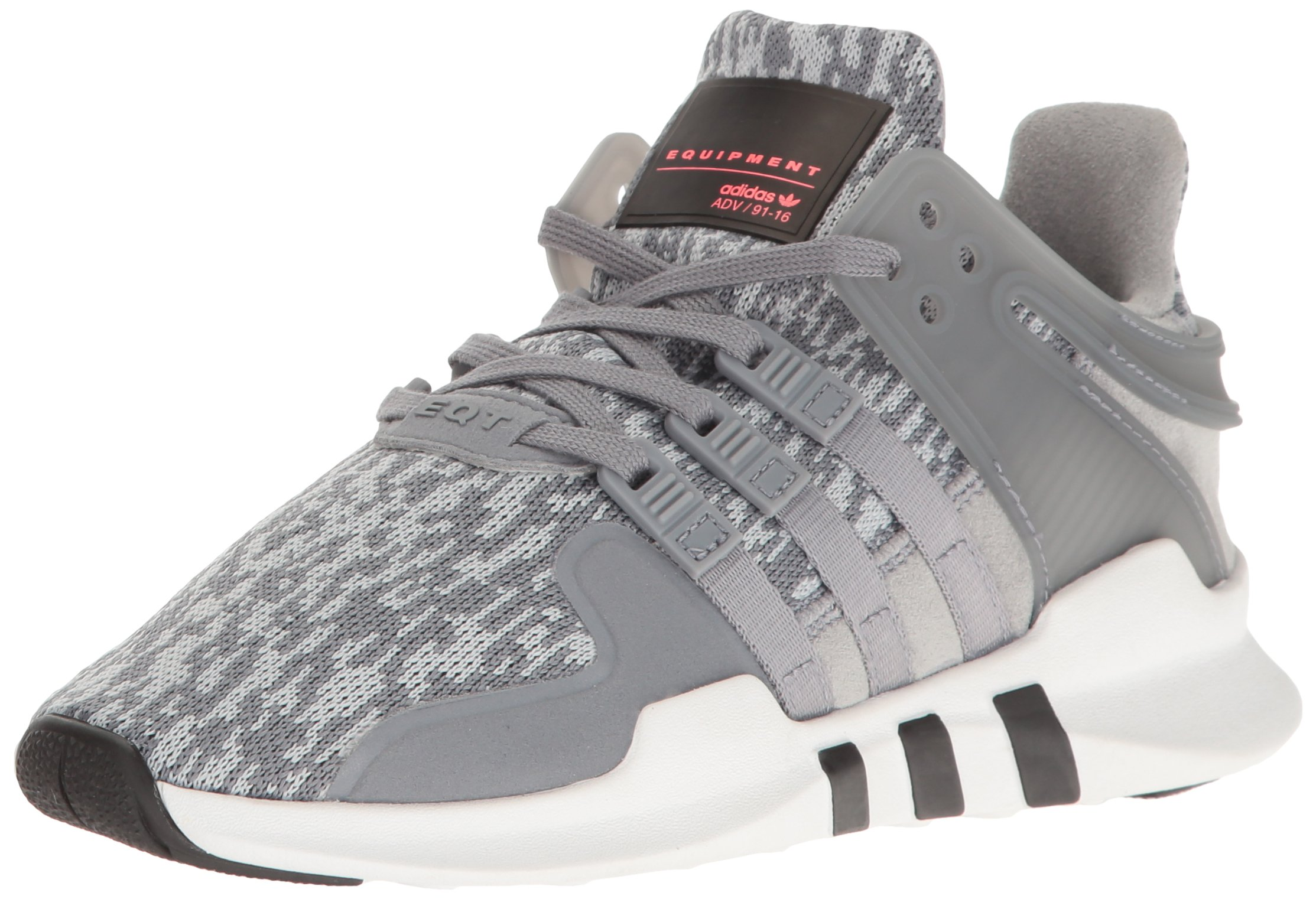 adidas Originals Boys' EQT Support ADV J Running Shoe, Tech Grey/White, 5.5 M US Big Kid by adidas Originals (Image #1)