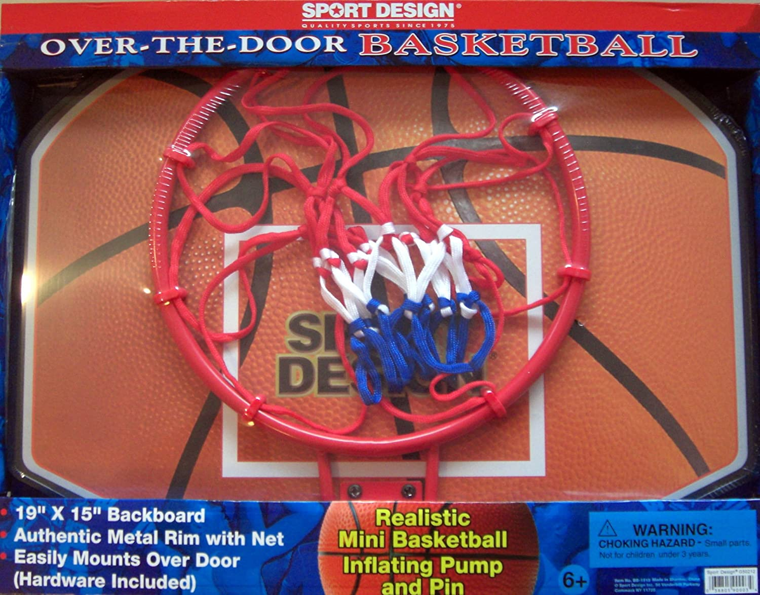 Beau Amazon.com: Sport Design Over The Door Basketball  Backboard U0026 Hoop: Toys U0026  Games