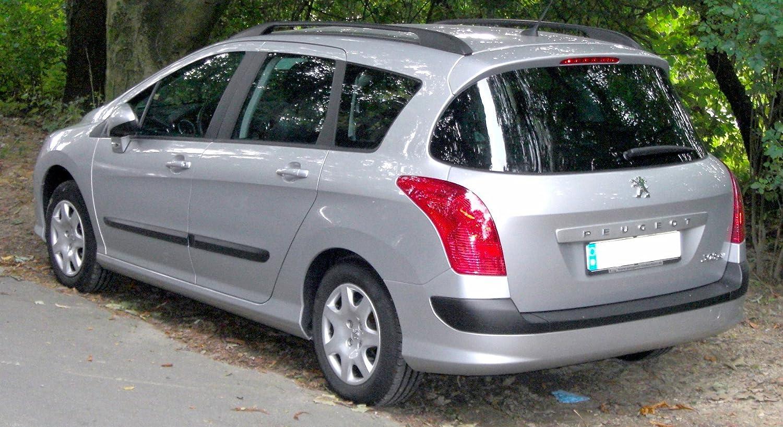 Peugeot 308 Estate inclinado 4 x 4 coche perro Jaula Caja de viaje ...