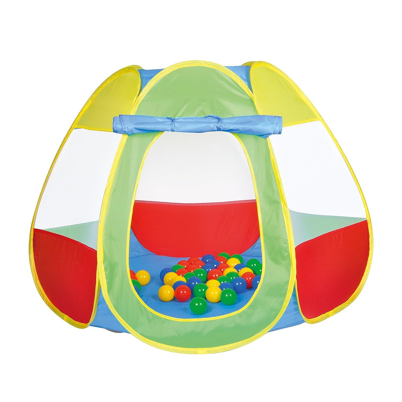 Knorrtoys 55323 - Bällebad Bellox inklusive 50 Bälle, Spielzelt, bunt
