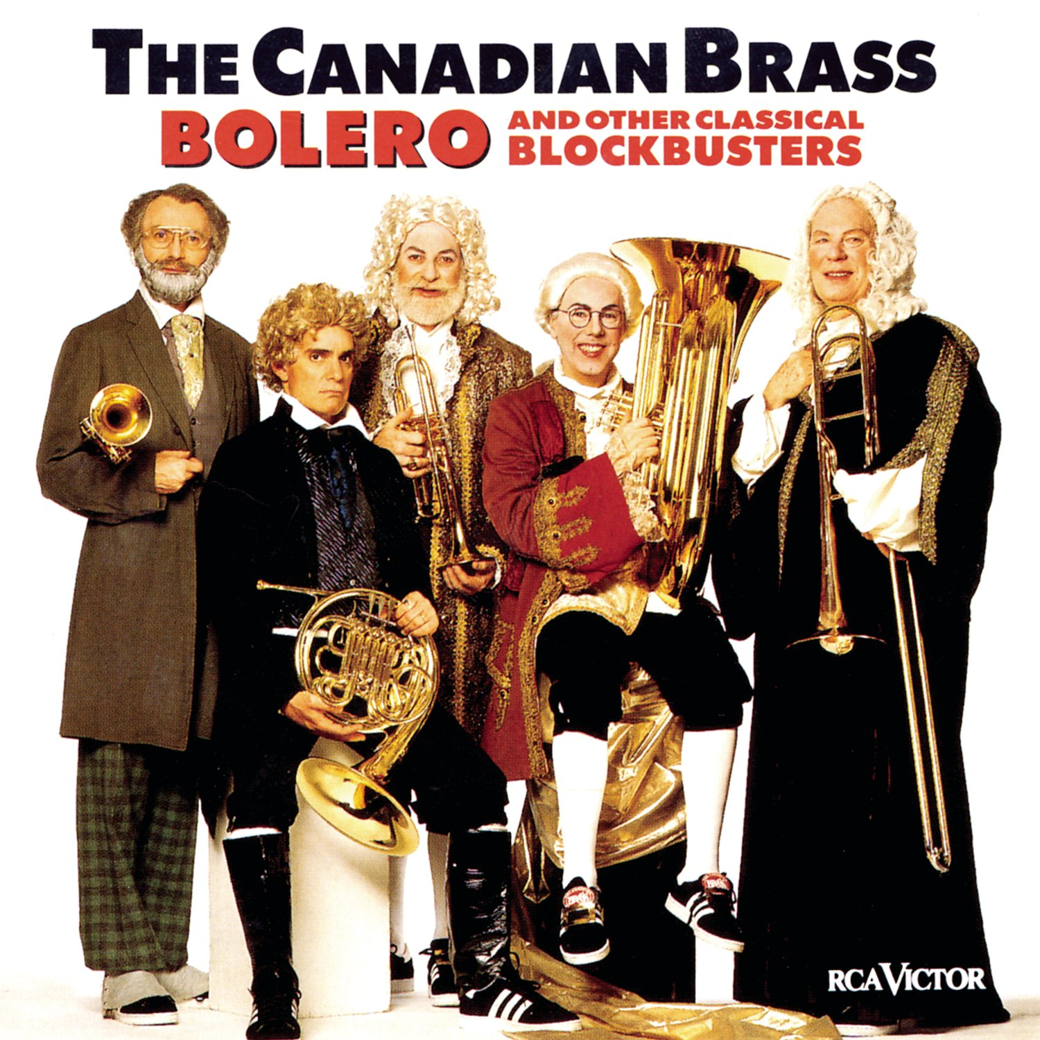 Bolero & Other Classical Blockbusters by CANADIAN BRASS