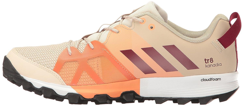 adidas outdoor Women's Kanadia 8 TR Trail Running Shoe B01HNJUMQ2 Orange 8.5 B(M) US|Linen/Col. Burgundy/Glow Orange B01HNJUMQ2 0d58c3