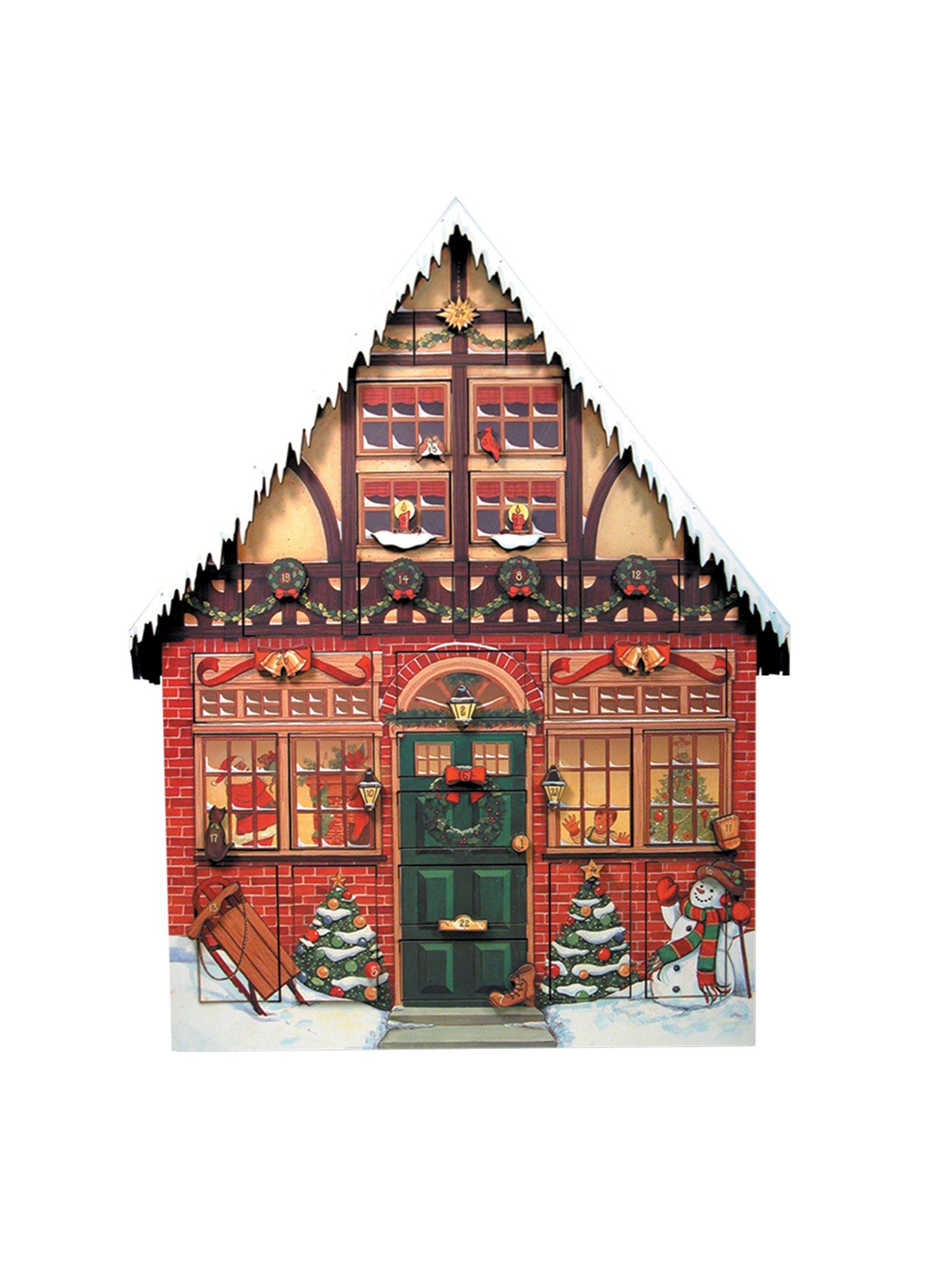 Byers' Choice Christmas House Advent Calendar #AC01