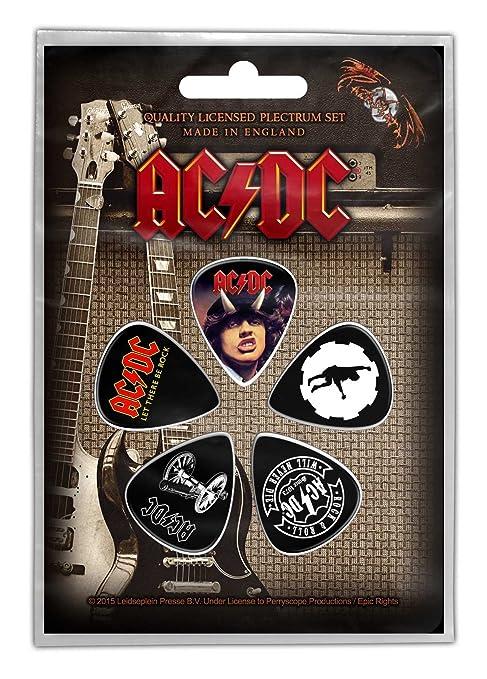 AC/DC 5 púa unidades púas para guitarra