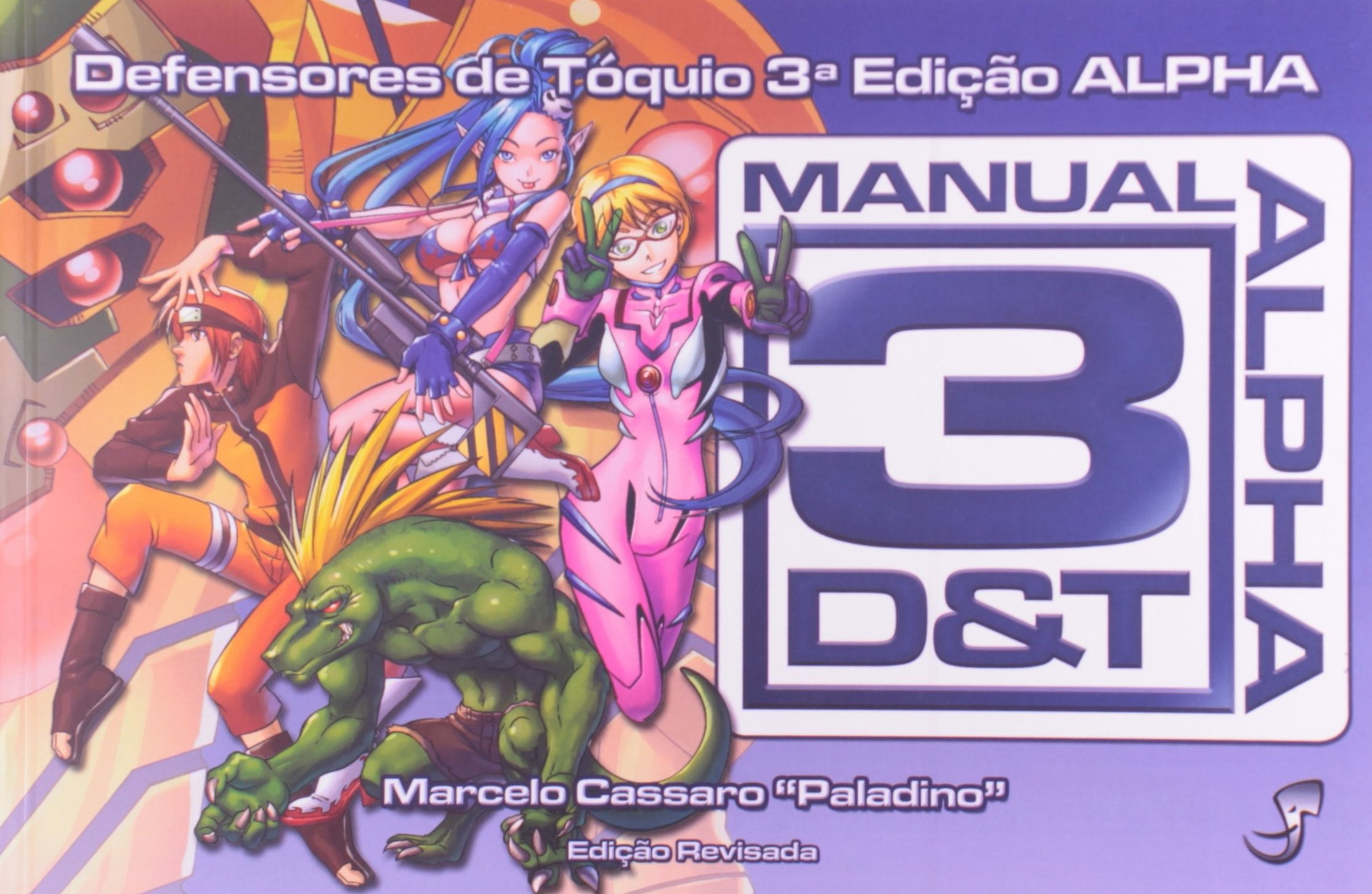 Manual 3D&T Alpha: Marcelo Cassaro: 9788589134606: Amazon ...