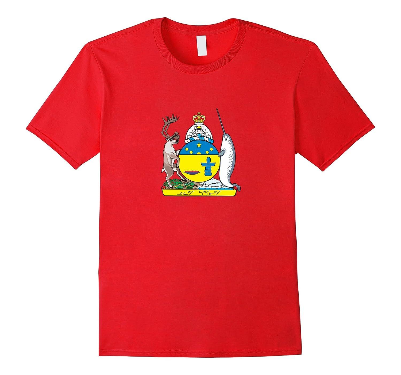 Nunavut Provincial Coat Of Arms | Canada Pride T-shirt-CL