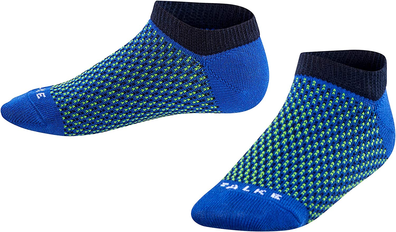 feuchtigkeitstransportierend FALKE Kinder Sneakersocken Sporty zweifarbigen Design Gr/ö/ße 23-42 Versch Leichter Strumpf in sportlichem Farben atmungsaktiv Baumwollmischung 1 Paar