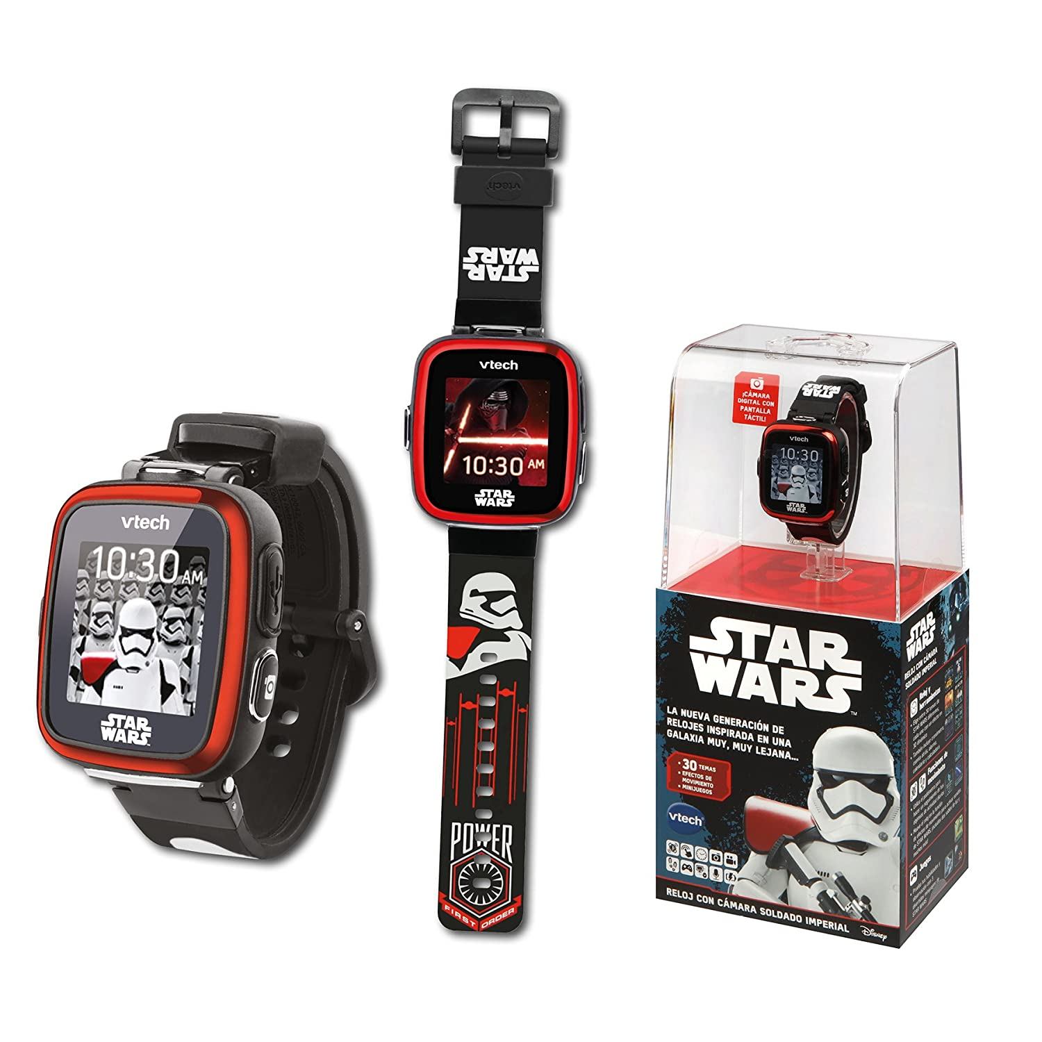 Amazon.com: VTech Multifunction Clock – Star Wars, Trooper Black (80 – 194227): Toys & Games