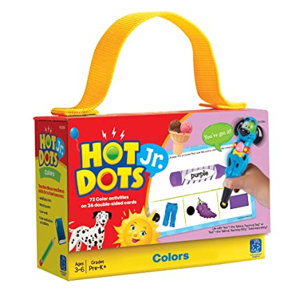Educational Insights Hot Dots Jr. Card Set - Color Flash Cards at amazon