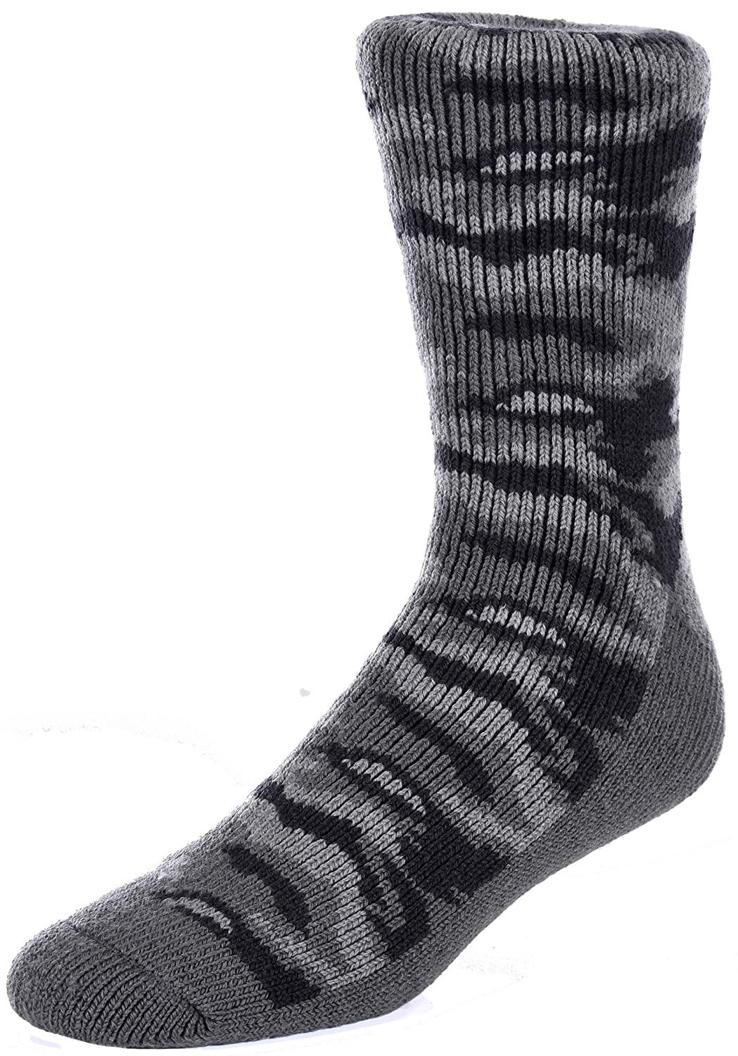 a05b51387 These men\'s Polar Extreme thermal camouflage pattern calf length socks are  the best helping you keep you feet warm and comfortable in all types of cold  ...