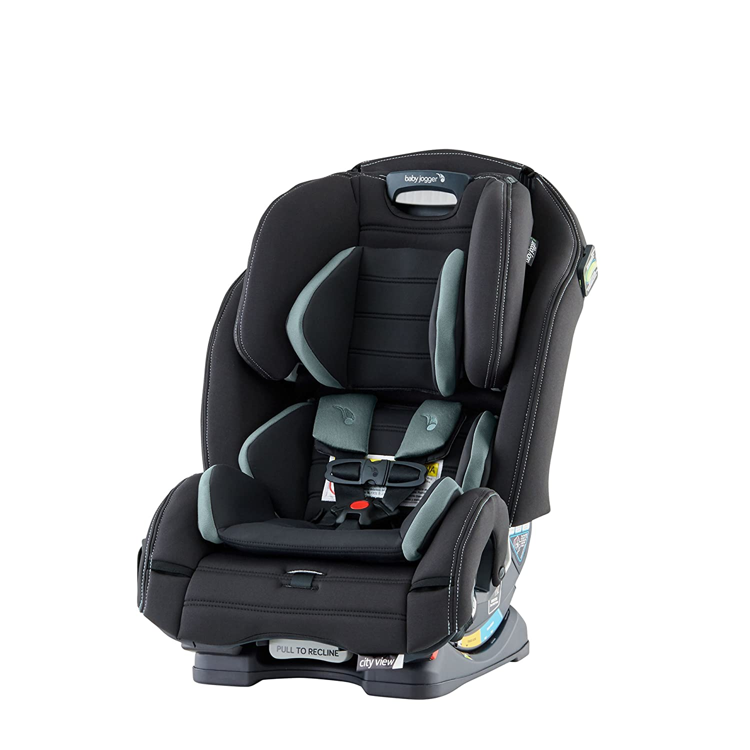 Baby Jogger City View Space Saving All-in-One Car Seat, Monument 2049120