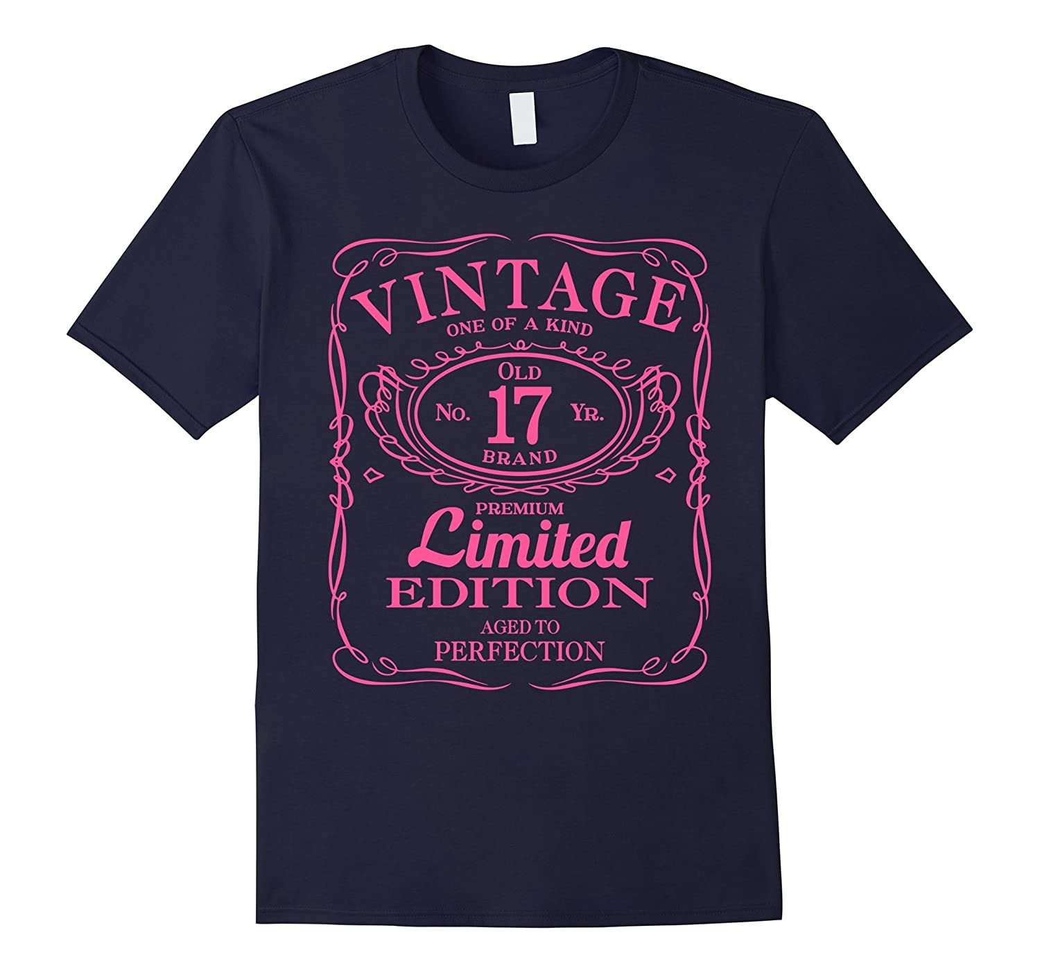 17th Birthday Gift Vintage Limited Edition Pink-BN
