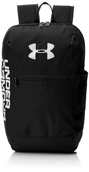 c3411d9f8 Under Armour UA Patterson Backpack Mochila, Unisex Adulto, Negro Black/White  001, Talla única: Amazon.es: Deportes y aire libre