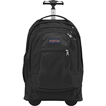 Amazon.com: JanSport Driver 8 Rolling Backpack with Wheels (Black ...