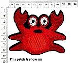 Red Crab Cute Happy Adorable Ocean Beach Crab
