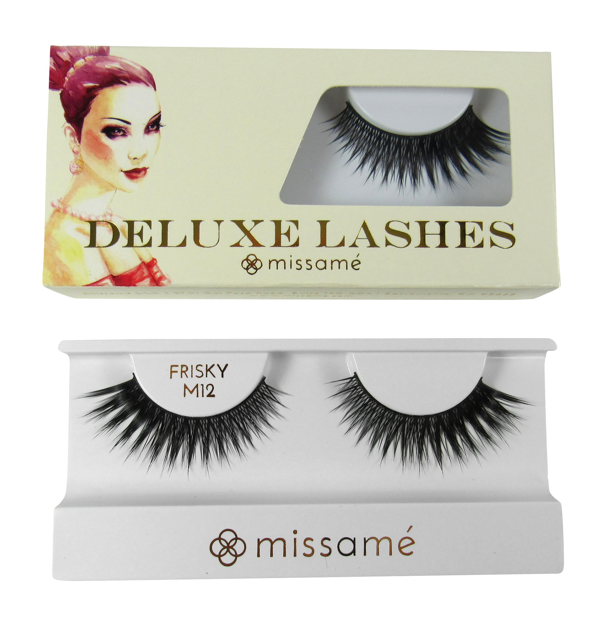 Amazon Missam Frisky Glamour Flare False Eyelashes Set