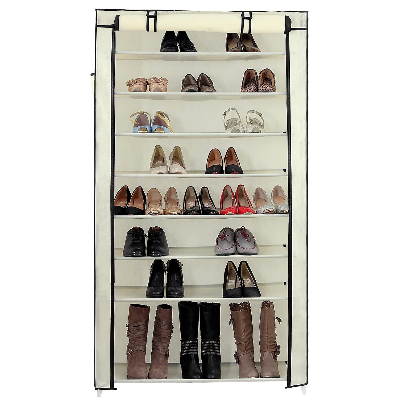 Amazoncom SONGMICS 10 Tiers Shoe Rack with
