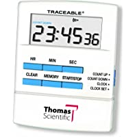 """Thomas 5015 Traceable Talking Timer, 2.5"""" Width x 3.25"""" Height x 1/2"""" Thick"""