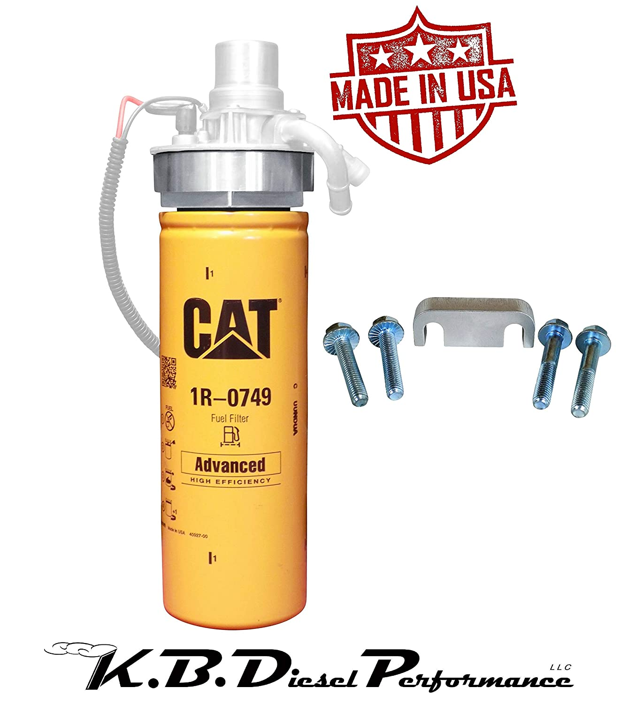 Amazon com: 6 6l 2001-16 Duramax CAT Adapter W/ 1R-0749 +