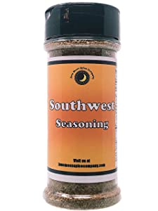 Premium | Southwest Seasoning | Large Shaker | Crafted in Small Batches with Farm Fresh Ingredients for Premium Flavor and Zest