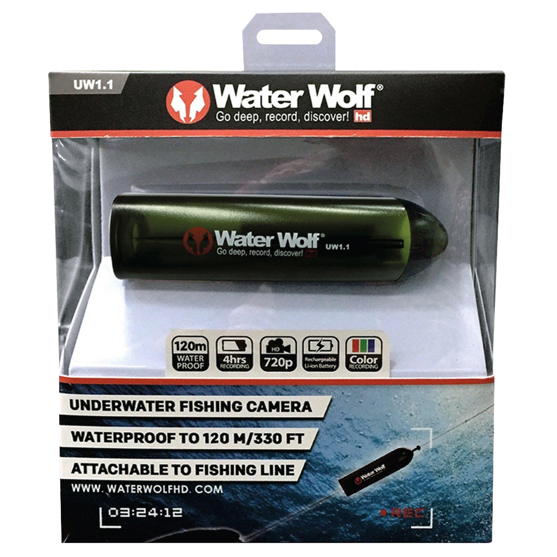 Waterwolf Underwater HD Camera - Black